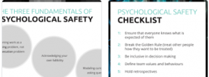 psychological safety training resources