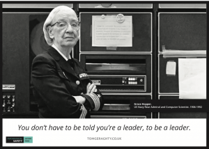 grace hopper leadership