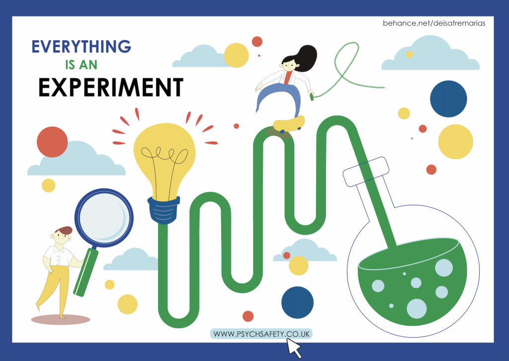 Everything is an experiment poster