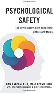 psychological safety the key to high performing teams